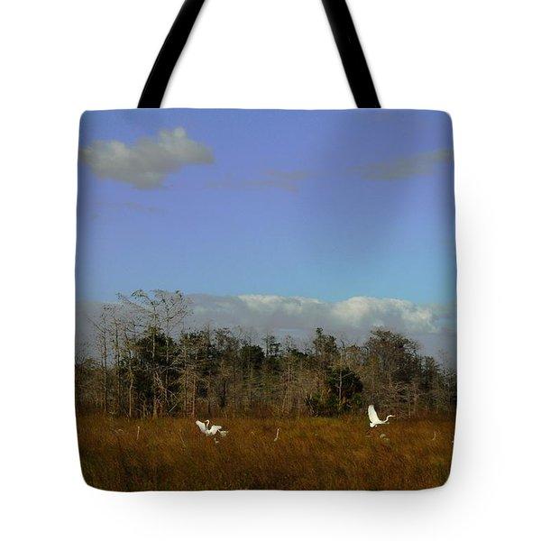 Lifes Field Of Dreams Tote Bag