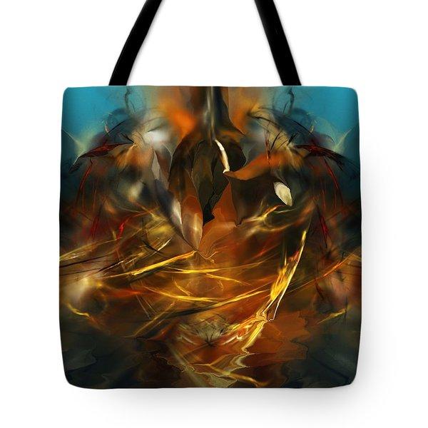 Lift Off Tote Bag by David Lane