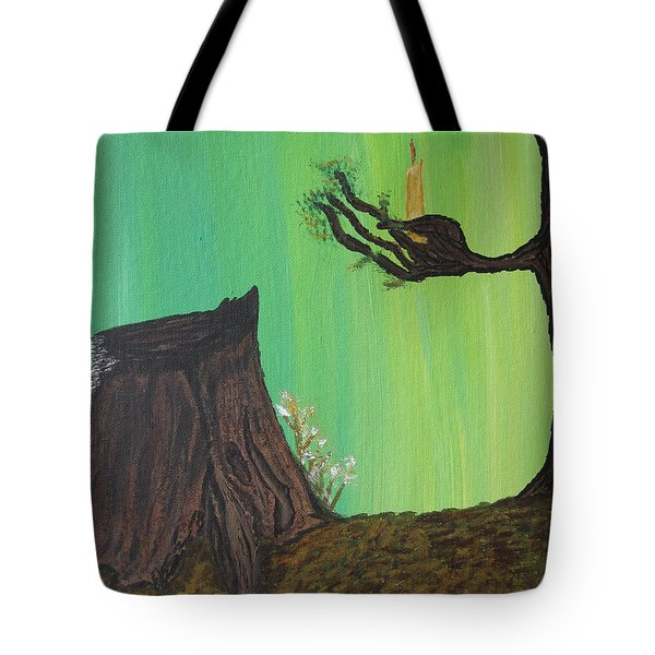 Light A Candle For Me Tote Bag