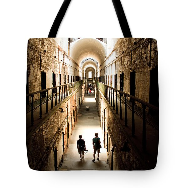 Light At The End Of The Journey Tote Bag by Ellie Teramoto