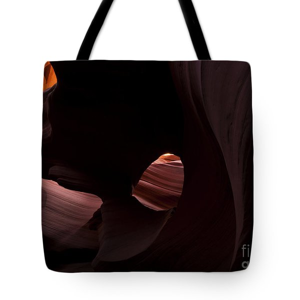 Light In The Eye Tote Bag by Mike  Dawson