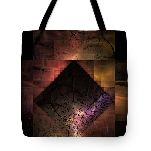 Tote Bag featuring the digital art Light Of The World by NirvanaBlues