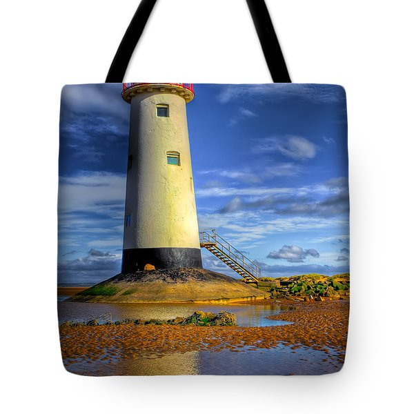 Lighthouse Tote Bag by Adrian Evans