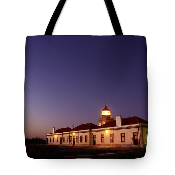 Lighthouse Tote Bag by Carlos Caetano