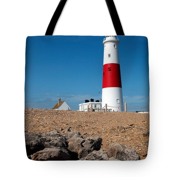Lighthouse Vertical Tote Bag