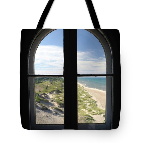 Lighthouse Window Tote Bag