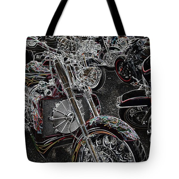 Lights Out 2 Tote Bag