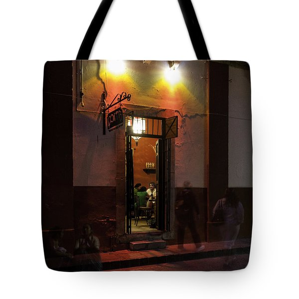 Like Moths To A Flame Tote Bag by Lynn Palmer