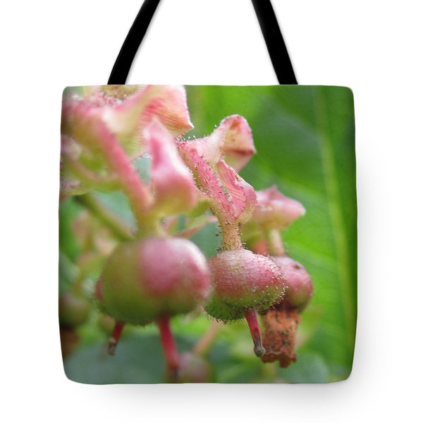 Lilly Of The Valley Close Up Tote Bag by Kym Backland