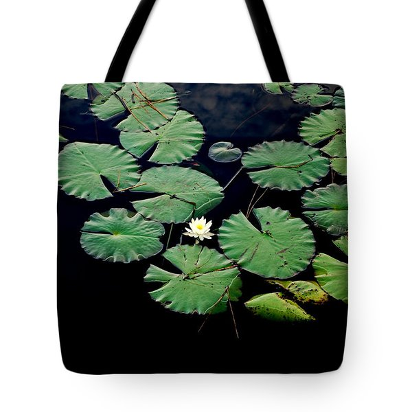 Lily Alone Tote Bag by May Photography