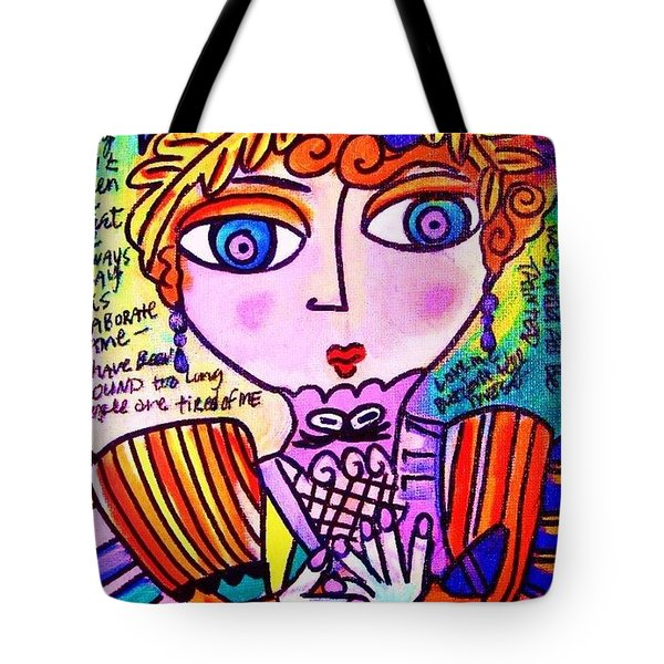 Lily Bart Tote Bag