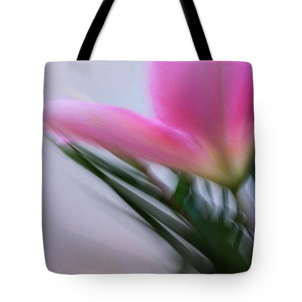 Lily In Motion Tote Bag