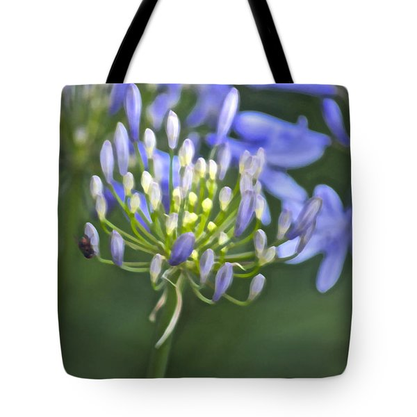 Lily Of The Nile Tote Bag by Gwyn Newcombe