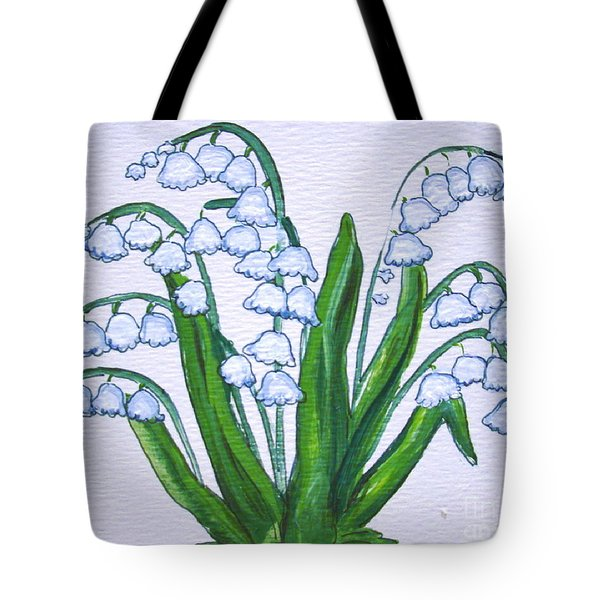 Lily-of-the-valley In Full Glory Tote Bag