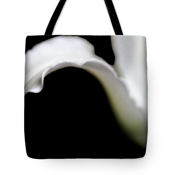 Lily Petal From A Side View Tote Bag
