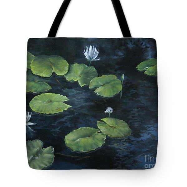 Lilypond Tote Bag