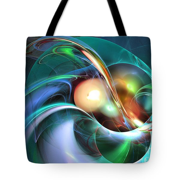 Limbo Of Oblivion Abstract Art Tote Bag