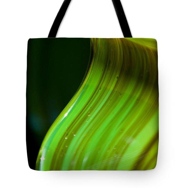 Lime Curl Ll Tote Bag by Dana Kern