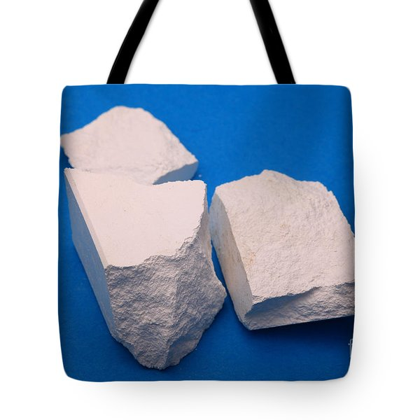 Lime Made From Marble Tote Bag by Ted Kinsman