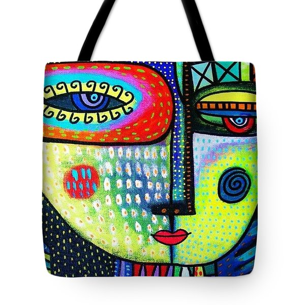 Lime Tree Goddess Tote Bag