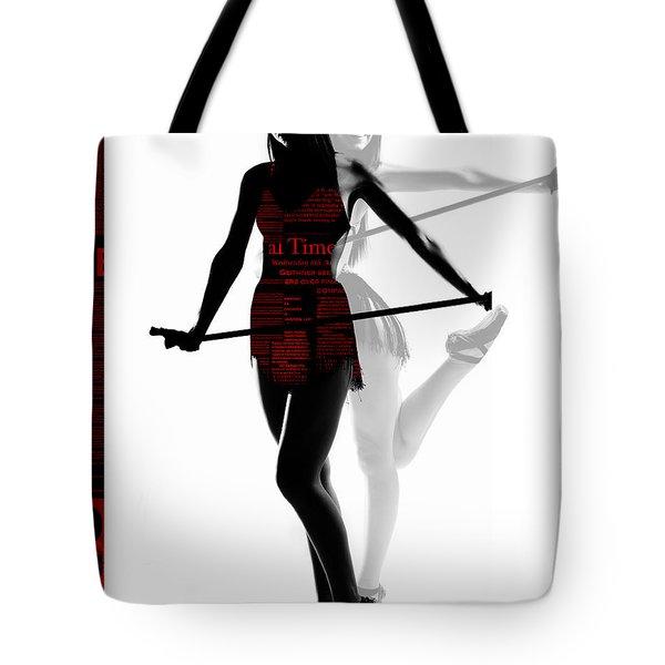 Limelight Tote Bag by Naxart Studio