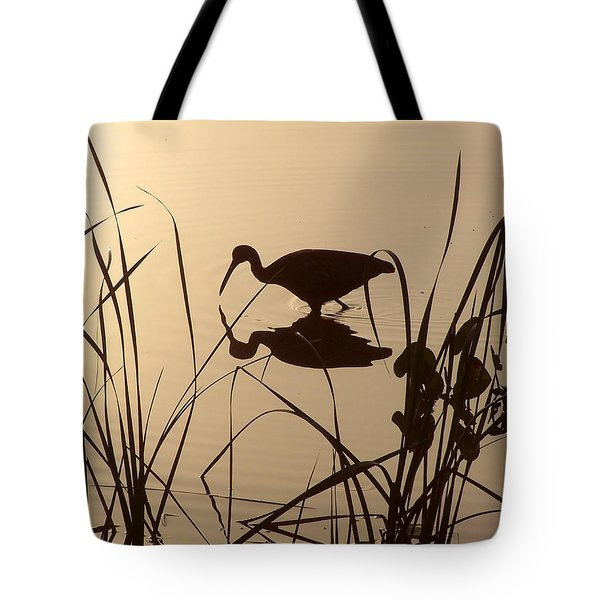 Limpkin At Dawn Tote Bag