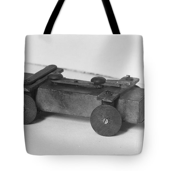 Lincoln Toy Wagon Tote Bag by Granger