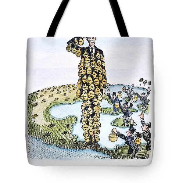 Lindbergh Cartoon Tote Bag by Granger