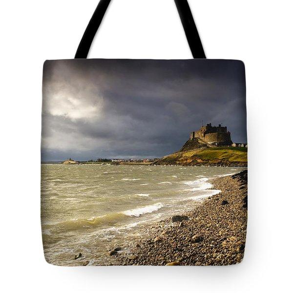 Lindisfarne Castle, Holy Island Tote Bag by John Short