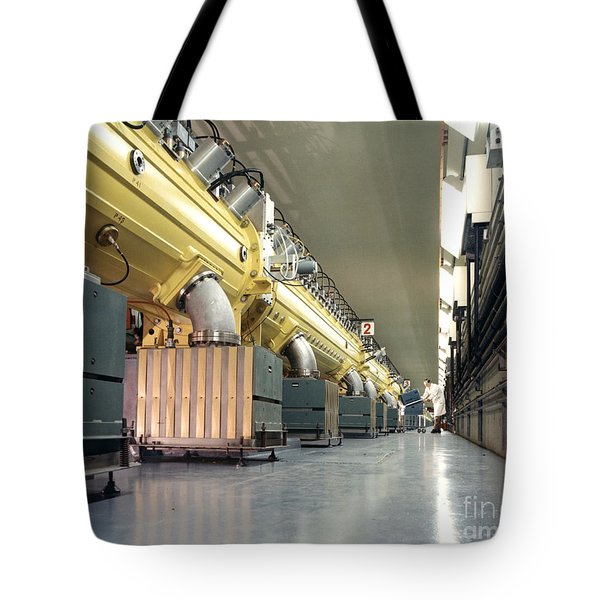Linear Accelerator Linac Tote Bag by Science Source