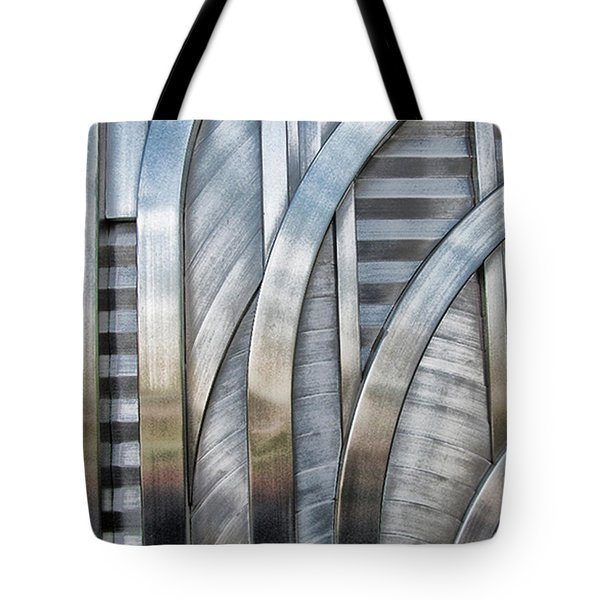 Tote Bag featuring the photograph Lines And Curves by Tammy Espino