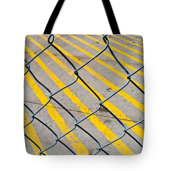Tote Bag featuring the photograph Lines by David Pantuso