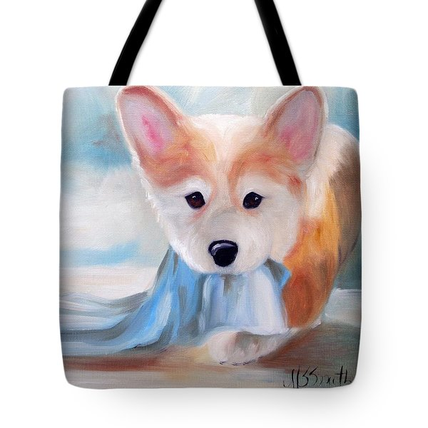 Linus And His Blanket Tote Bag by Mary Sparrow