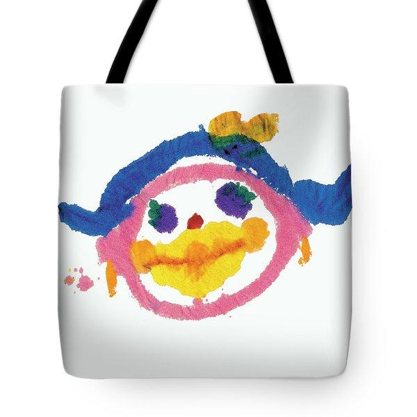 Lipstick Face Tote Bag