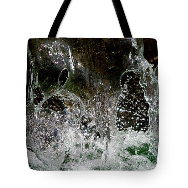 Liquid Art Tote Bag by Vicki Pelham