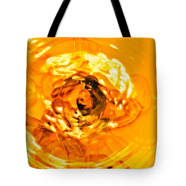 Liquid Gold Tote Bag by Andee Design