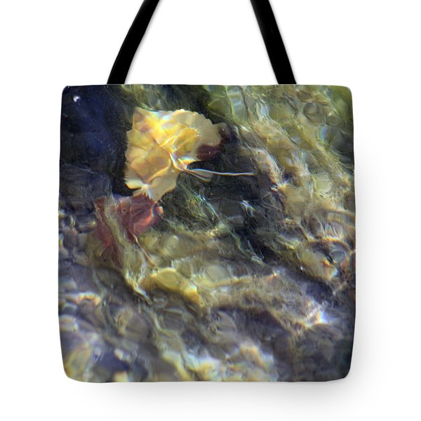 Liquid Leaves 2 Tote Bag