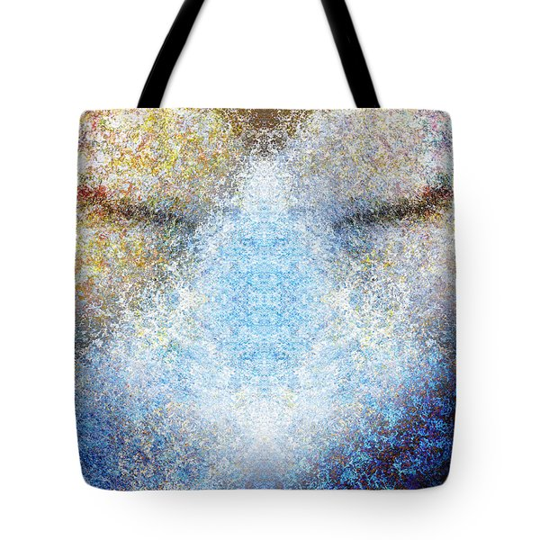 Listening Tote Bag by Christopher Gaston