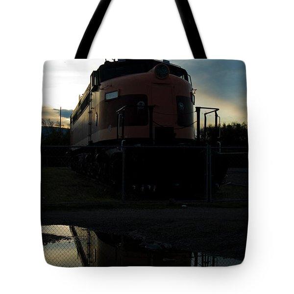 Littel Joe Reflections Tote Bag by Tim Mulina