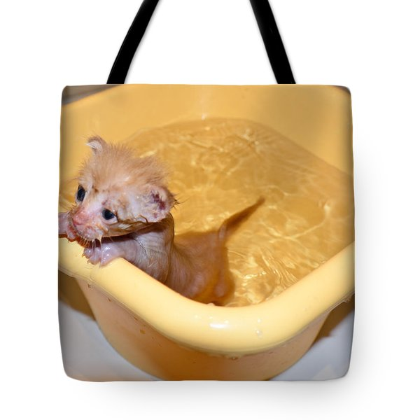 Little Bath Tote Bag
