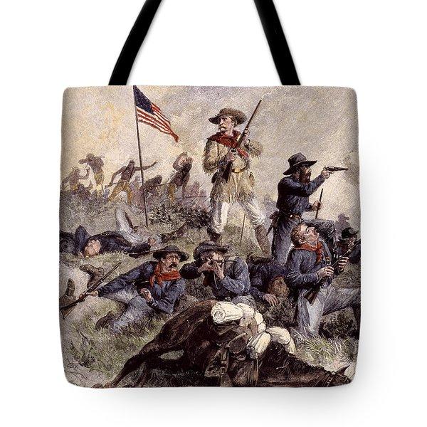 Little Bighorn, 1876 Tote Bag by Granger