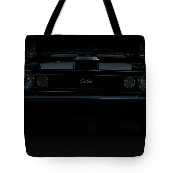 Little Black Camaro Tote Bag