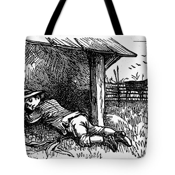 Little Boy Blue Tote Bag by Granger