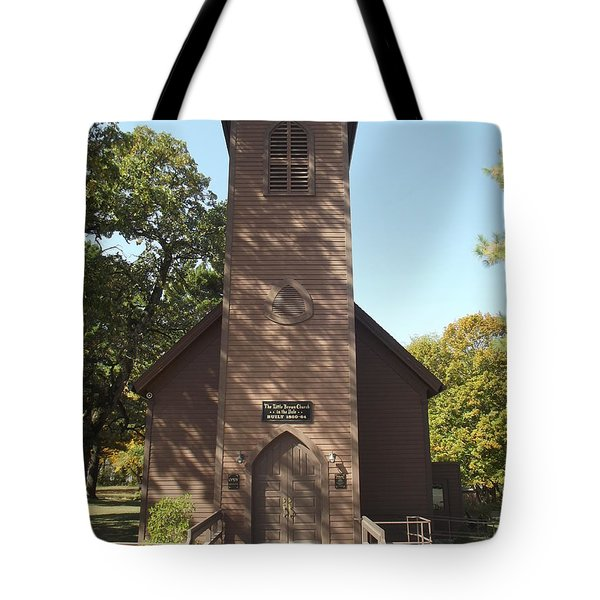 Little Brown Church Tote Bag