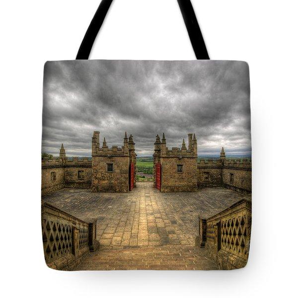 Little Castle Entrance - Bolsover Castle Tote Bag