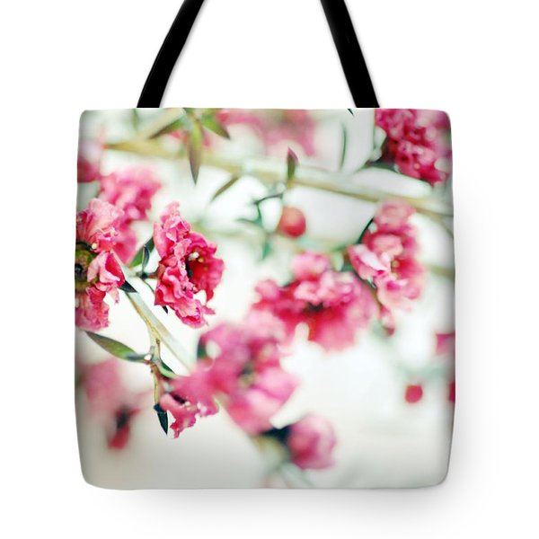Little Dreams On Stems Tote Bag