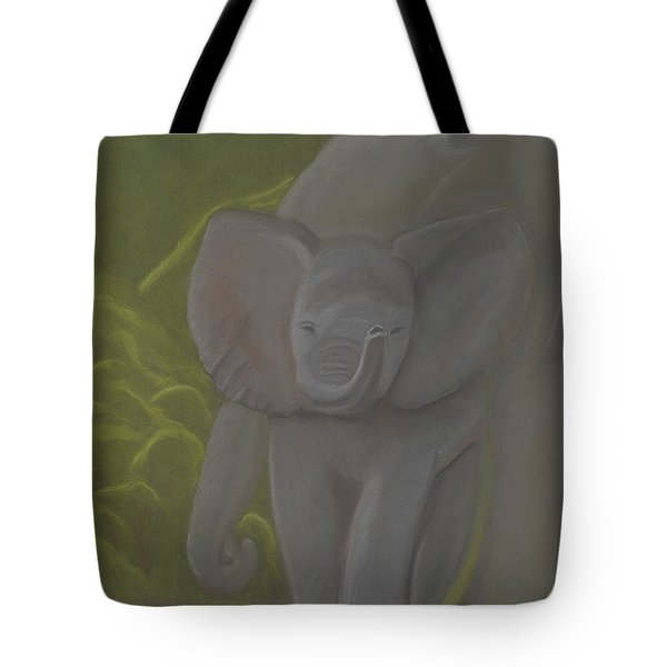 Little Elephant Tote Bag by Vonna Beam