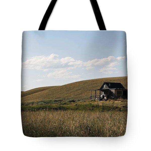 Tote Bag featuring the photograph Little House On The Plains by Lorraine Devon Wilke