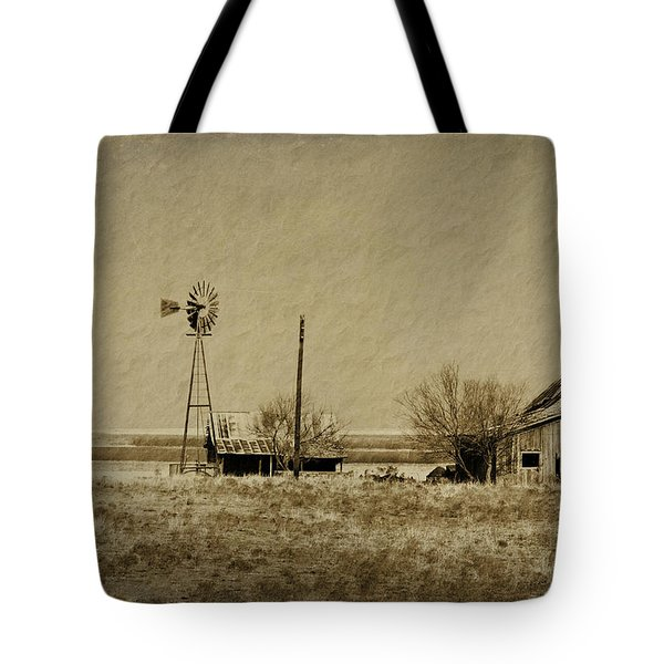 Little House On The Prairie Tote Bag by Melany Sarafis