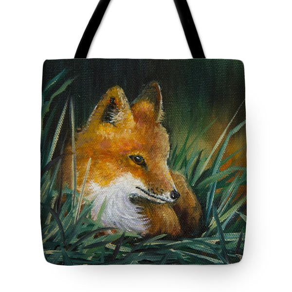 Little Kit Tote Bag by Dee Carpenter